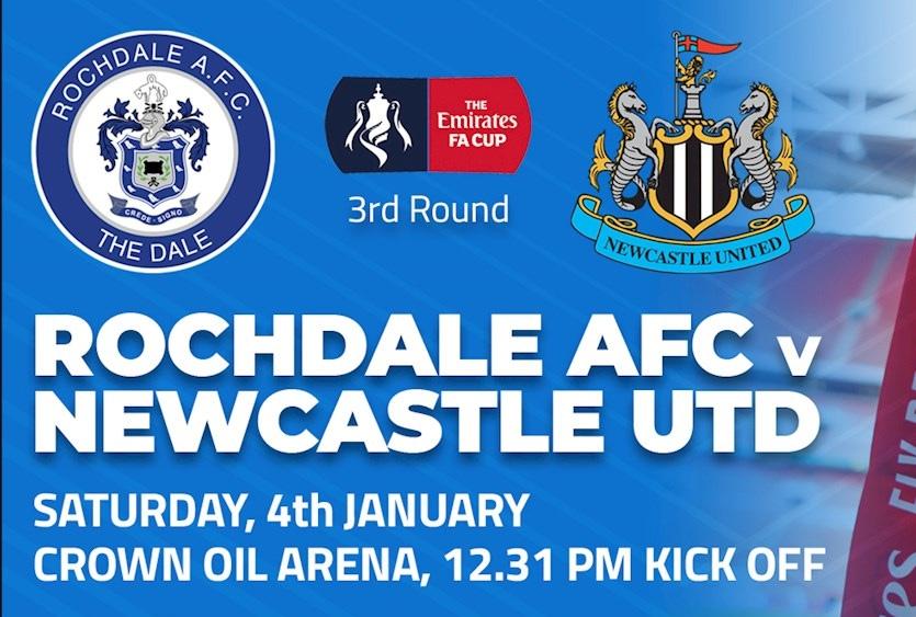 Rochdale - Newcastle FA CUP 2020