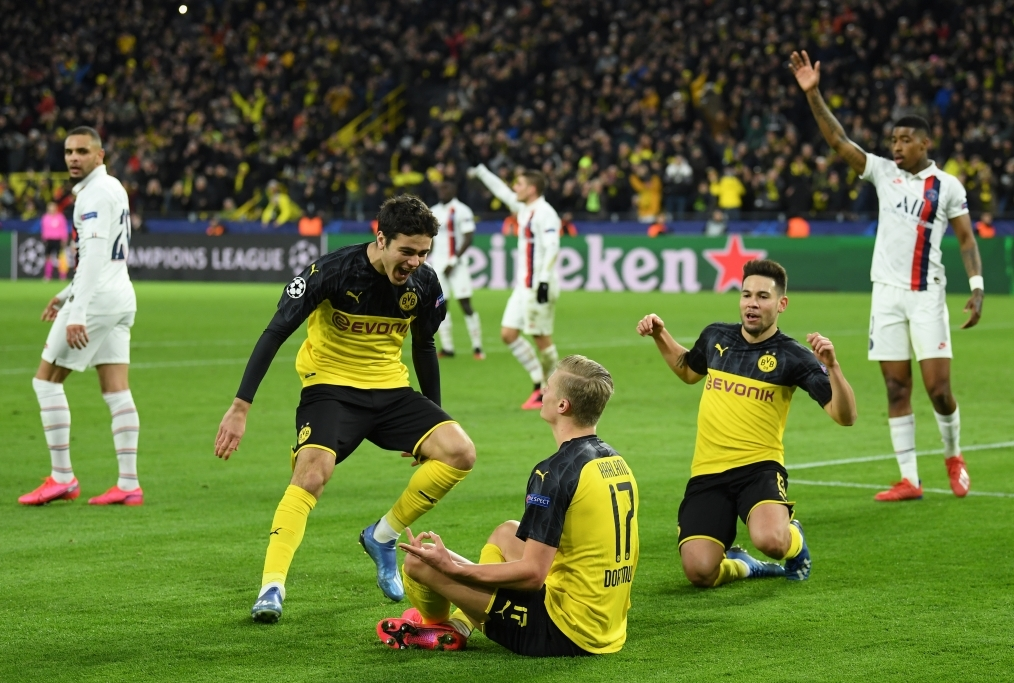 Borussia Dortmund v Paris Saint-Germain