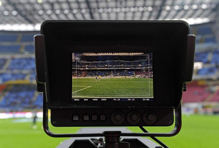 Diritti televisivi telecamera stadio Tv