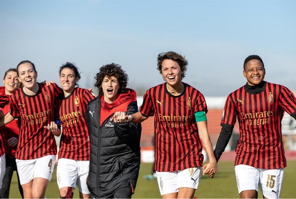 Lesultanza del Milan dopo la vittoria