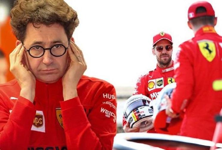 Binotto e Vettel