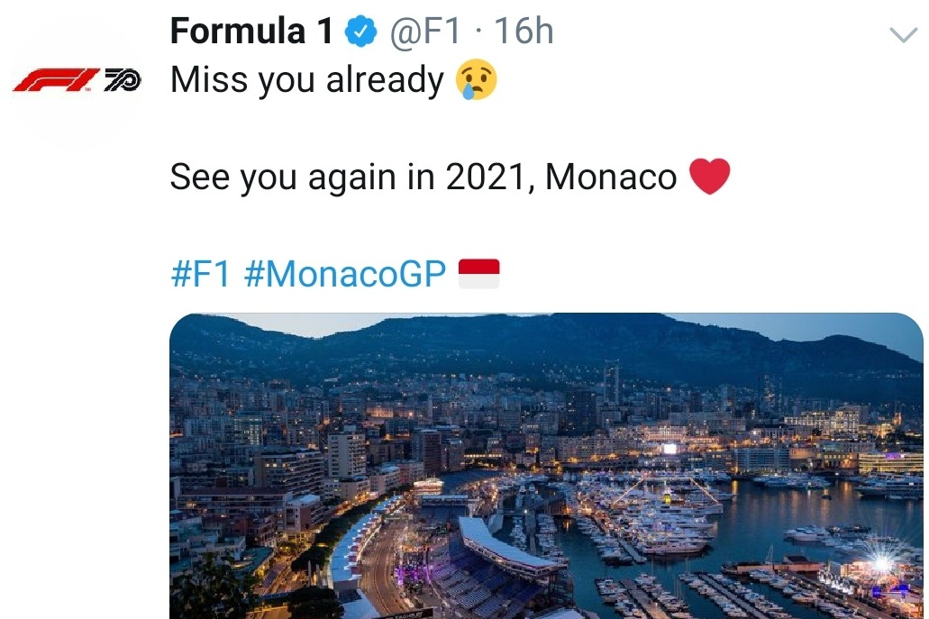 No GP Monaco 2020