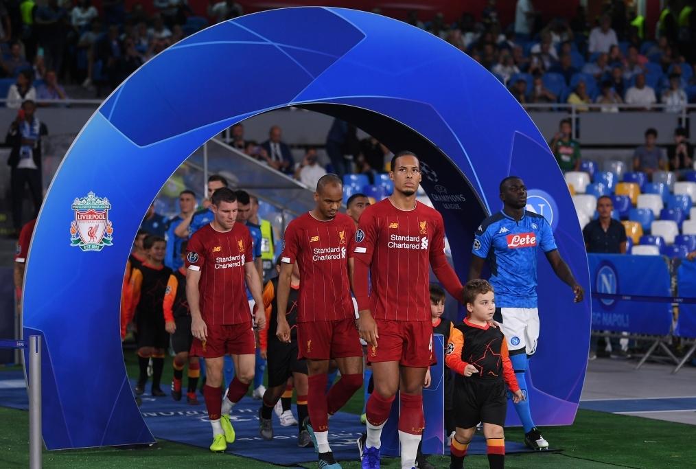 SSC Napoli v Liverpool FC Group E - UEFA