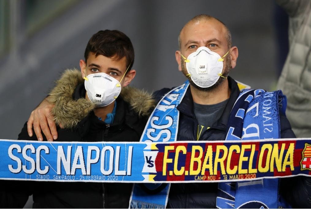 SSC Napoli v FC Barcelona - UEFA Champio