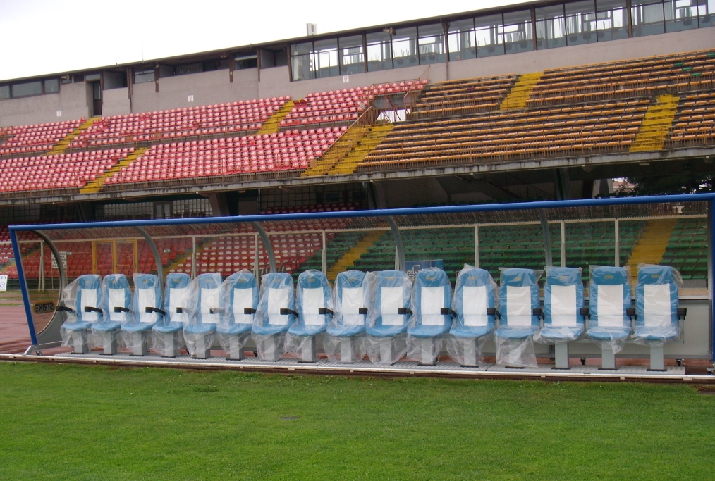 panchina di calcio