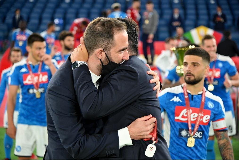 Juventus v SSC Napoli - Coppa Italia Fin