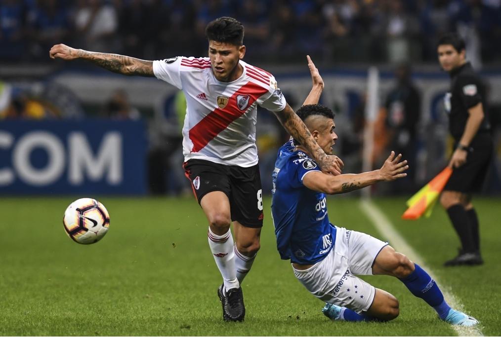 Cruzeiro v River Plate - Copa CONMEBOL L