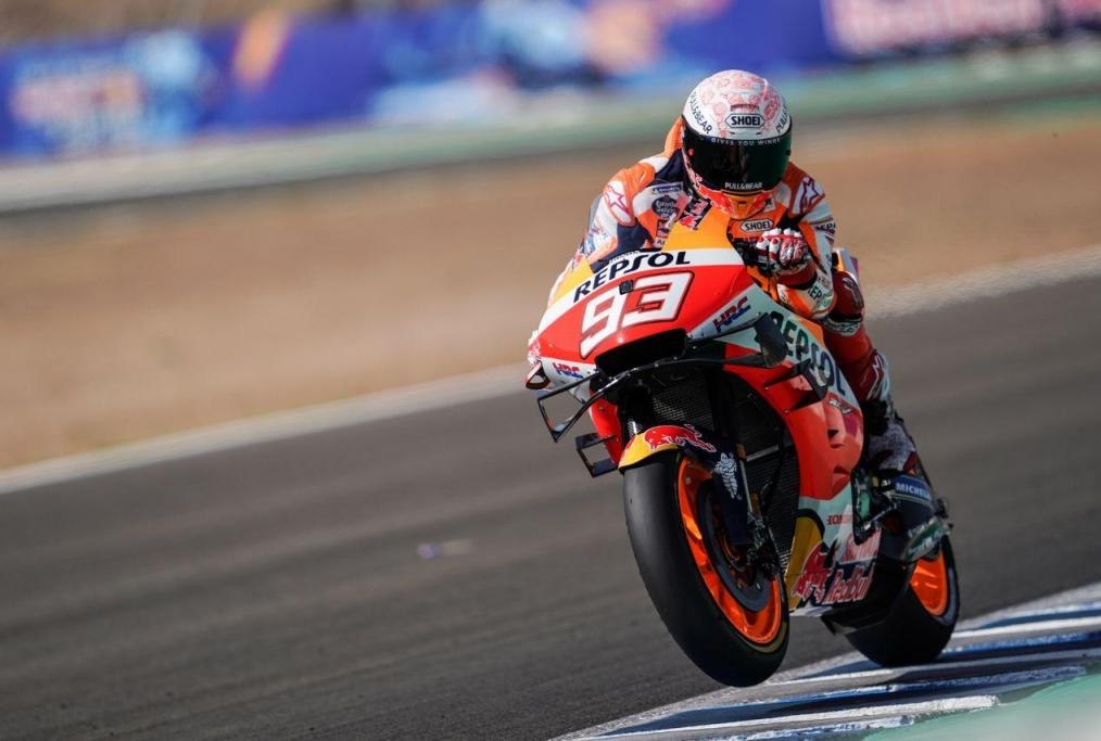 Marc Marquez at Jerez