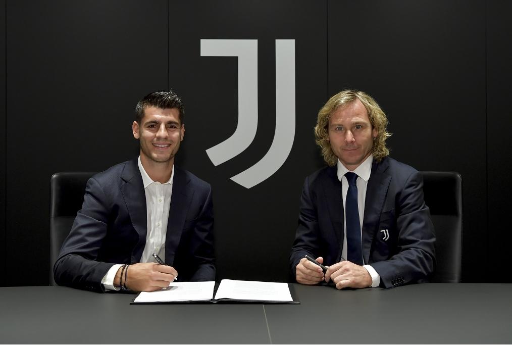Juventus New Signing Alvaro Morata Medic