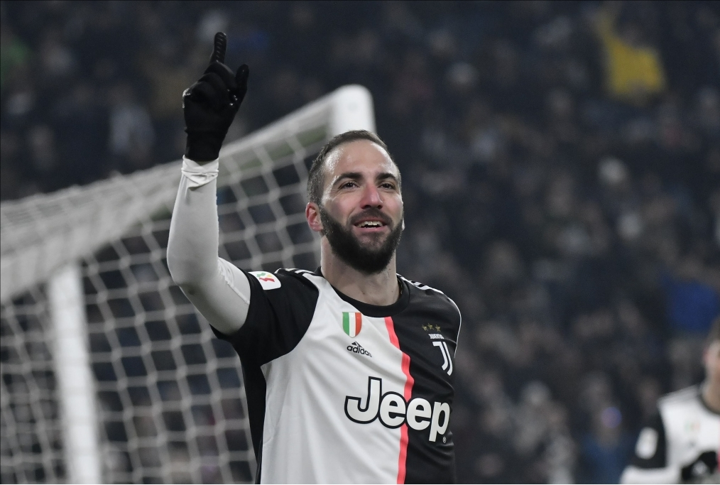 Higuain nella Juventus