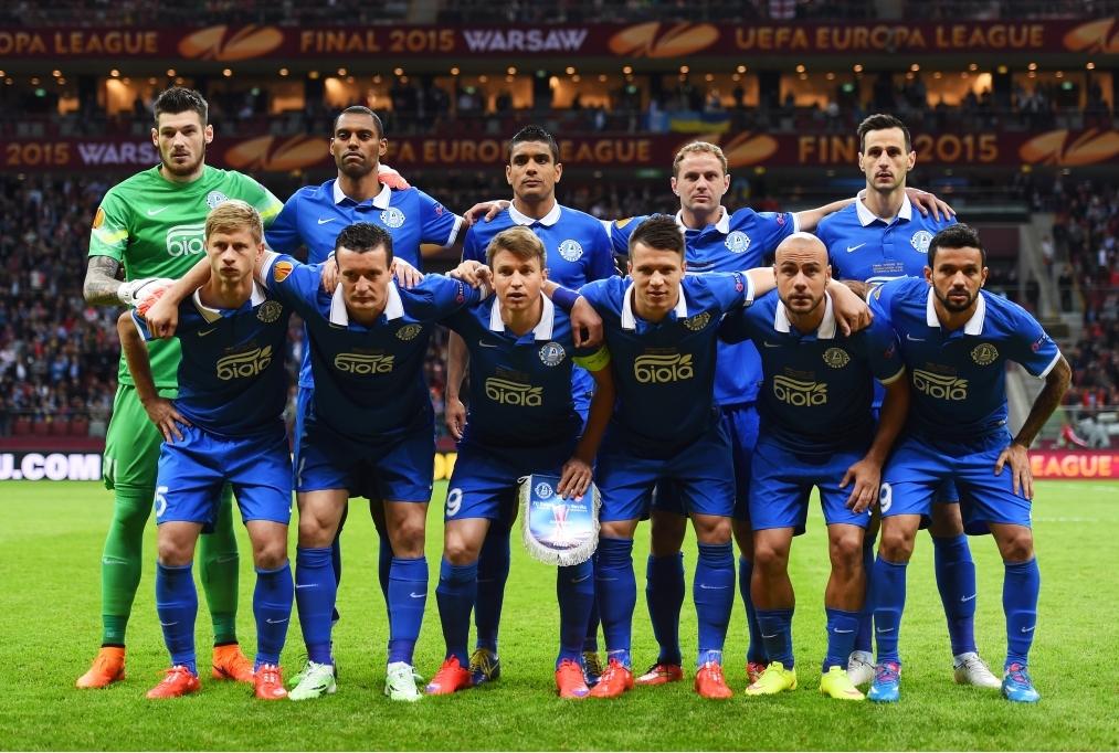 FC Dnipro Dnipropetrovsk v FC Sevilla -