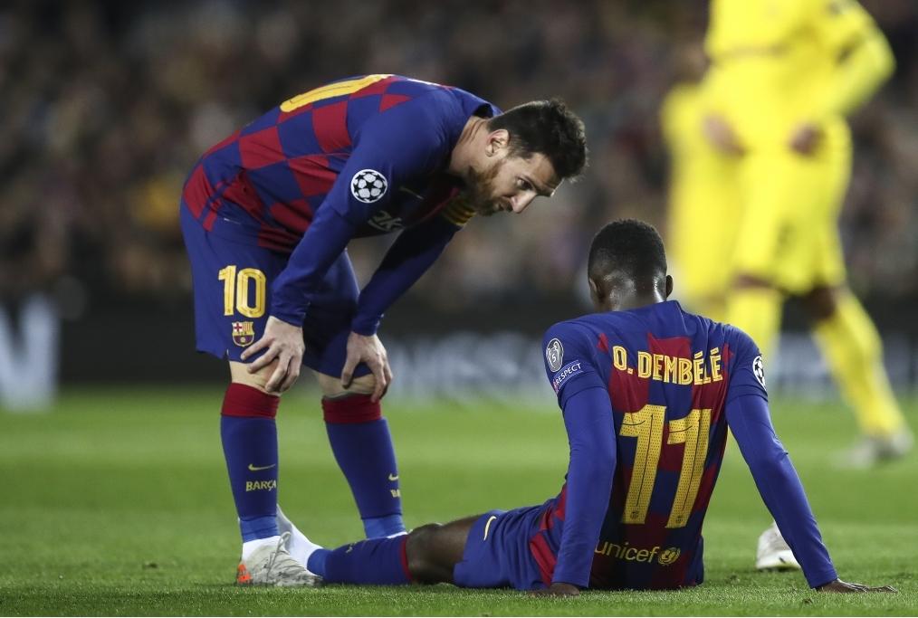 FC Barcelona v Borussia Dortmund Group F