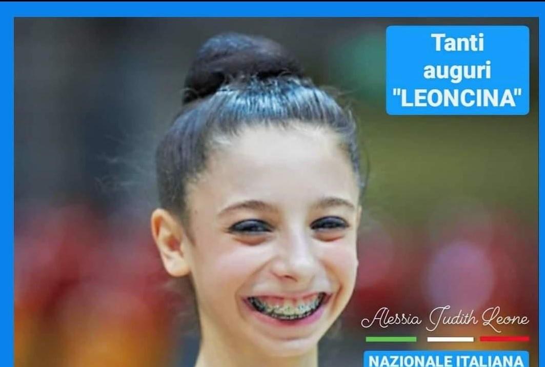 Alessia Leone la leoncina nazionale dell
