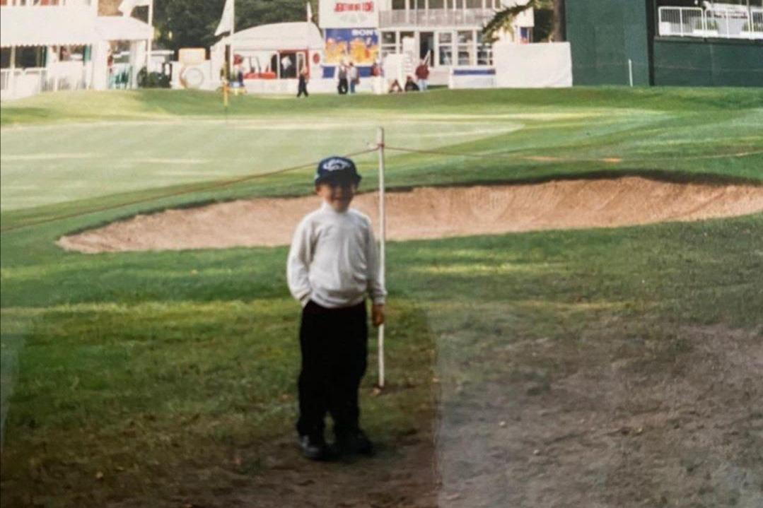 1996, Tyrrel Hatton all'età di 5 anni