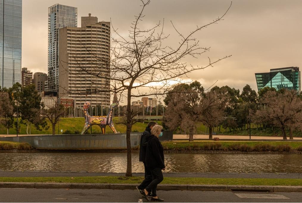 Melbourne Under Stage 4 Lockdown Restric