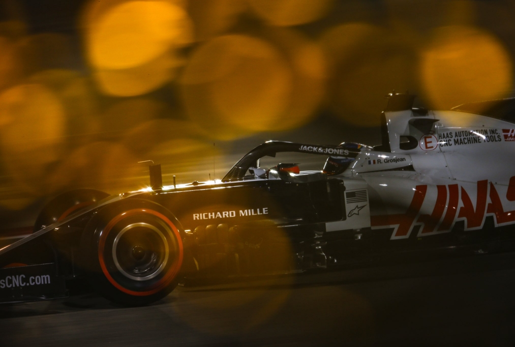 Romain Grosjean in qualifica