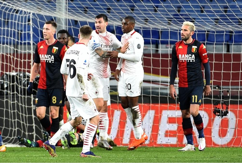 Genoa CFC - AC Milan - Serie A