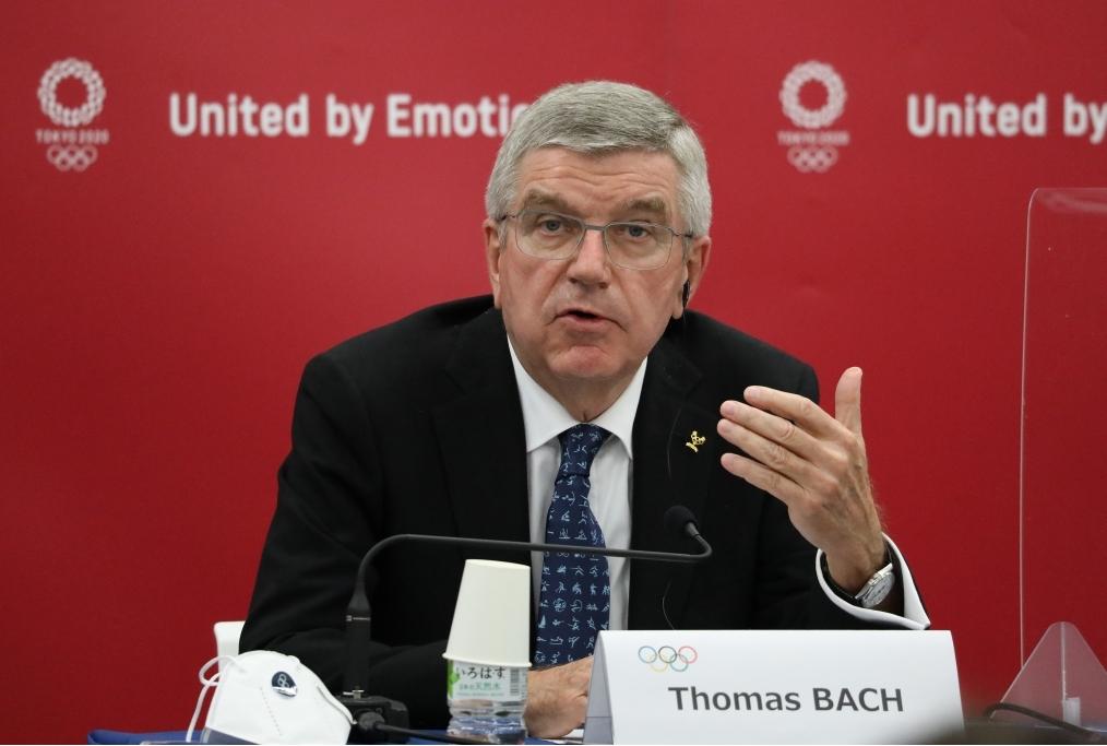 IOC President Thomas Bach Visits Japan