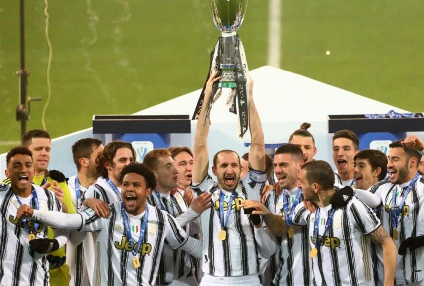 Juventus vincitrice della Supercoppa