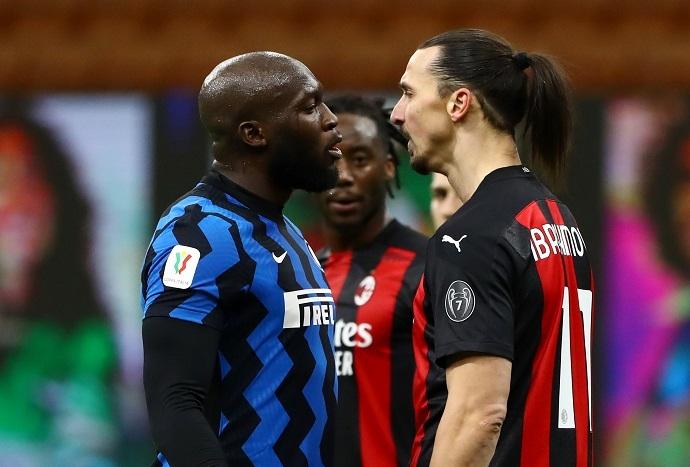 Milan Inter sfida Lukaku Ibra