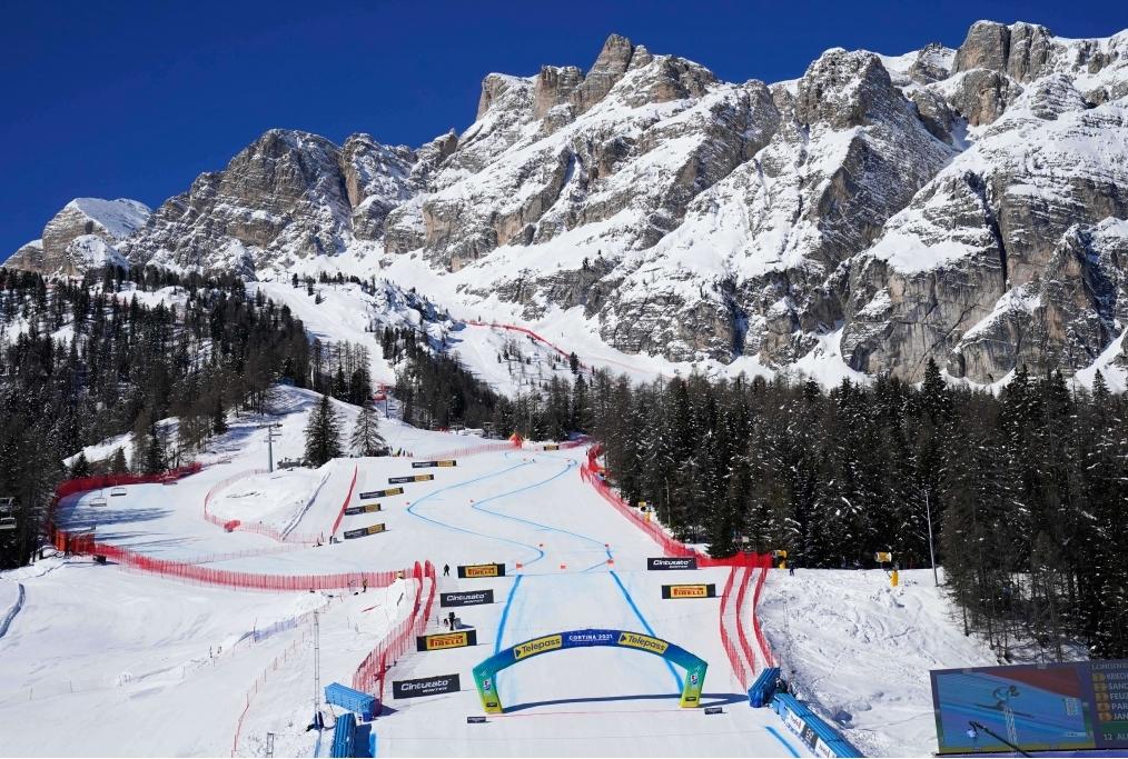 Cortina - Discesa maschile Mondiali Sci