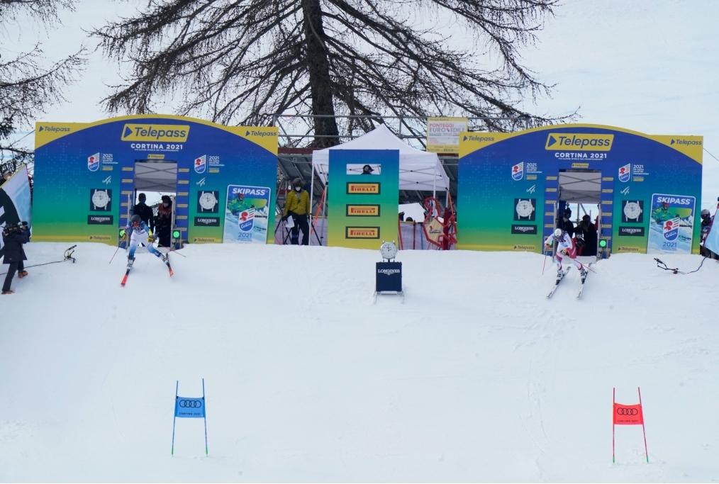 Cortina - Parallelo Mondiali Sci Alpino