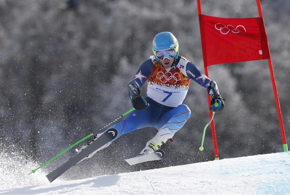 Ligety in azione alle Olimpiadi di Sochi