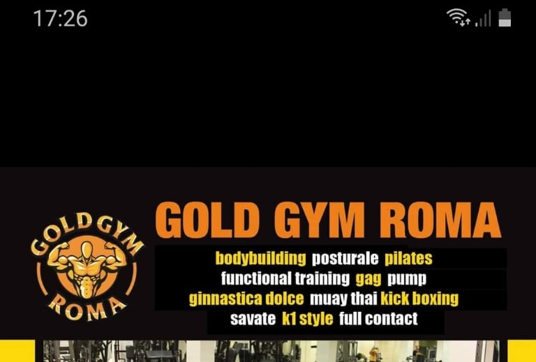 Palestra Gold Gym Roma