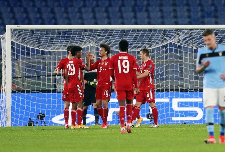 Roma Lazio Bayern Monaco  Champions Leag
