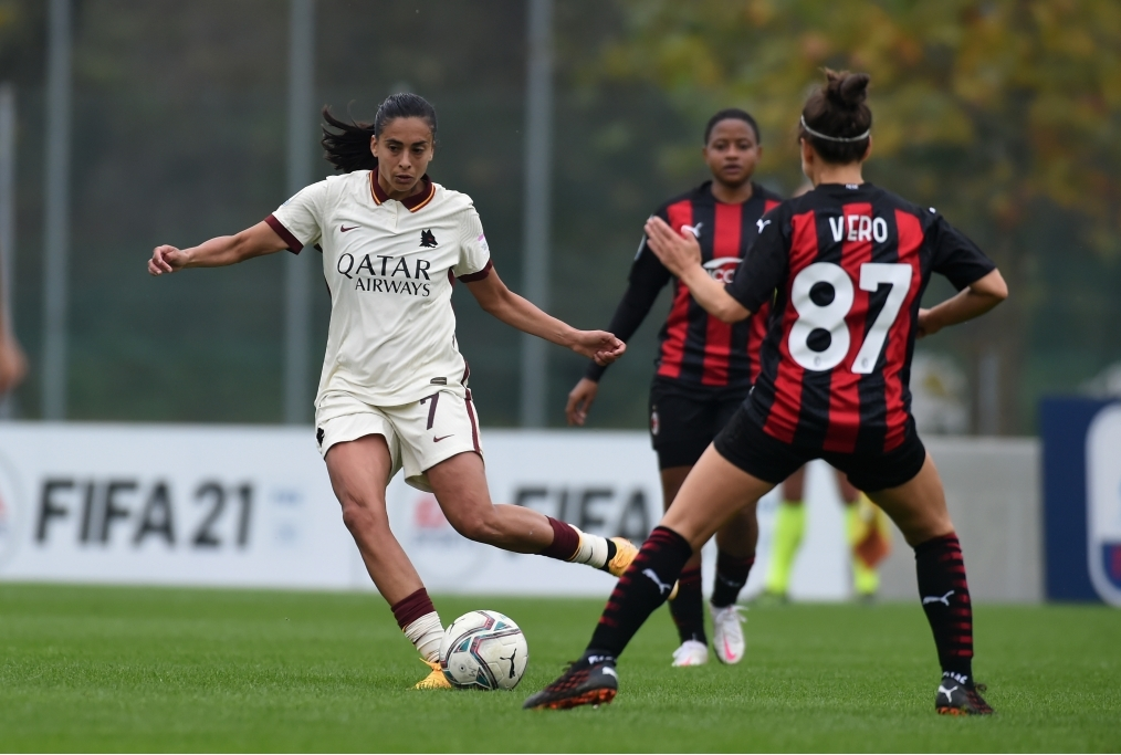 AC Milan v AS Roma - Women Serie A