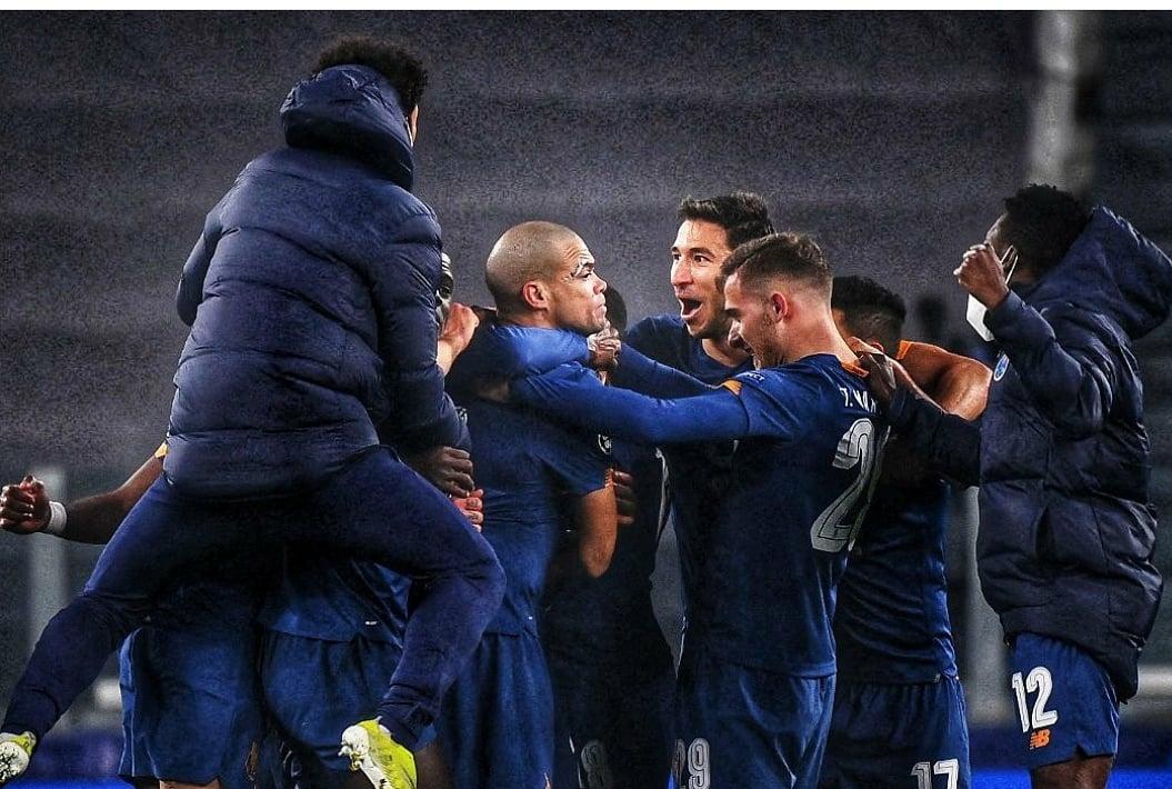 Torino Juve Porto 3-2 Champions League 2